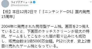 卡盟网官方网站:继PS2成为史上第2畅销游戏机 任天堂DS走过15年
