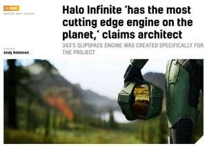 俊诚卡盟:架构师:《光环:无限》将使用这个星球上最先进的3A游戏引擎