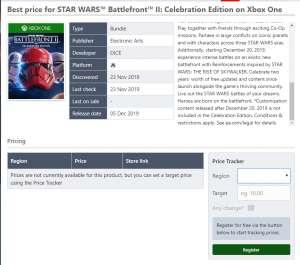 688卡盟:超级大包 EA《星球大战:前线2》庆典版内容泄露!