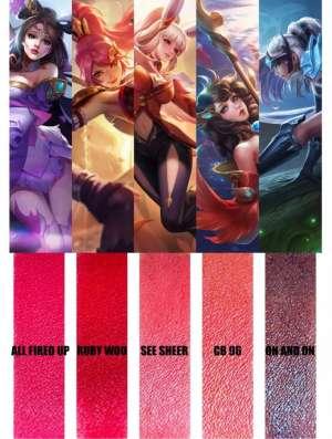 游戏做辅助:2020开年一定要买的口红,就是王者荣耀女英雄同款唇色!