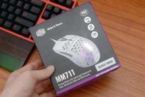 4前桥辅助:华丽强夯,目前防护能力最好的镂空游戏鼠标酷冷MM711