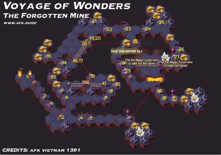 剑与远征地渊洞窟攻略 地渊洞窟路线及打法详解