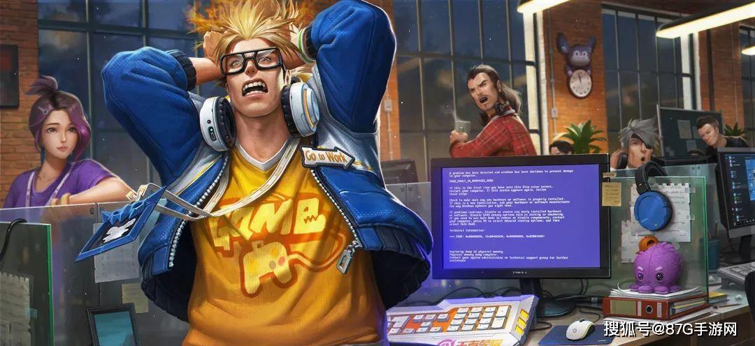 卡盟榜:王者荣耀:明世隐新皮特效曝光 典韦蓝屏警告竟然要出星元?