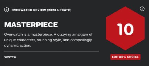 新天龙八部辅助:《守望先锋》四周年问鼎IGN评分,免费试玩开启热度创记录
