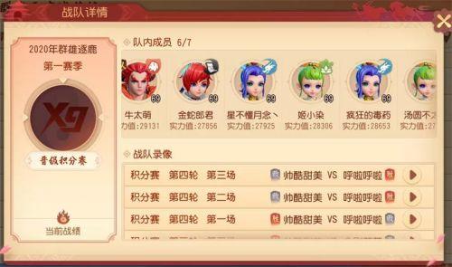 梦幻西游三维版群雄逐鹿积分赛阵容搭配攻略