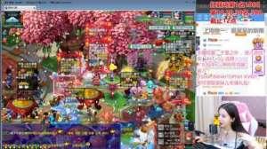 魔兽争霸辅助:UZI、笑笑对线《梦幻西游》电脑版,女仆装呆妹儿更在线求爱