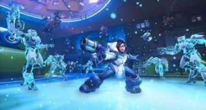末末辅助:风暴英雄新英雄小美上线,竟能在冰天雪地滑行穿梭!