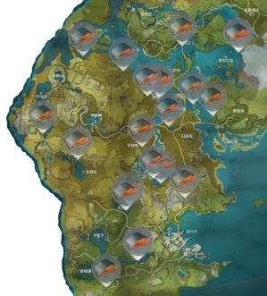 绝地求生VOLtex辅助:原神鱼肉刷新地点一览 鱼肉分布位置介绍