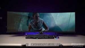势力卡盟:蚂蚁电竞ANT491UC带鱼屏显示器视频评测 32:9比例堪称丧心病狂