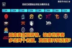 九卡盟平台:越南赛区退赛,拳头改规则,LCK成最大赢家,IG的复活赛没了