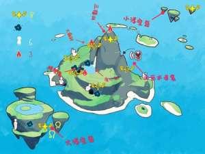 绝地求生标记辅助:光遇圣域群岛地图详解 圣域群岛各地点名称介绍