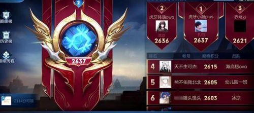 天翔卡盟:巅峰赛榜一换人,野王时代结束,榜首ID太熟悉:终于等到他
