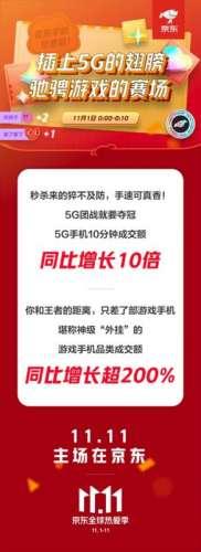 橘子卡盟:京东11.11这款游戏手机卖爆了,同比增长595%